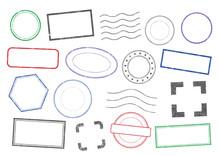 Vector Stamps Frames 2