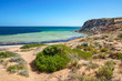 looking at the ocean from eagle bluff at coral coast, western australia 10