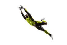 Male Soccer Player Goalkeeper ...