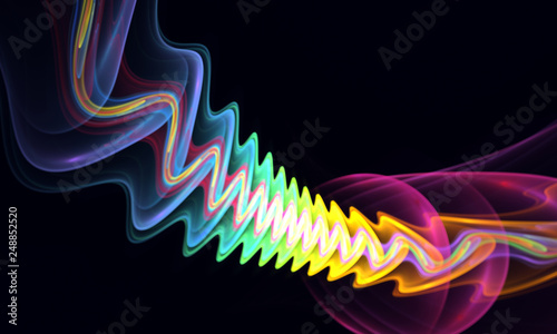 Elegant abstract wave, beautiful background for art projects