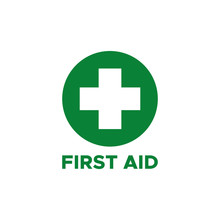 First Aid Icon Symbol Vector