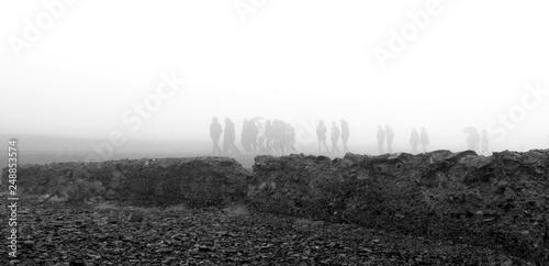 Fotografiet Camp de concentration de Buchenwald, Allemagne
