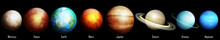 Planets Of The Solar System Il...