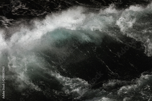 Dunkle Welle Fototapeta