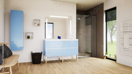 Vue 3d Salle De Bain 08 Buy This Stock Illustration And