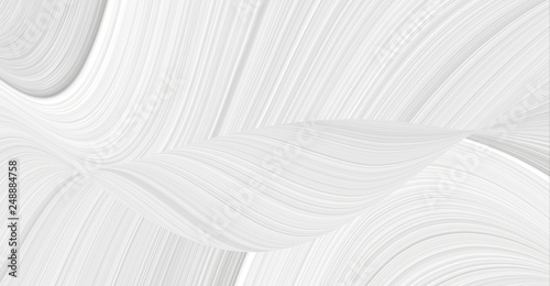 Foto op Aluminium Abstract wave 3d background with an abstract pattern of waves and lines in a space theme. Texture white and gray for patterns and seamless illustrations.