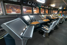 Ship Control Panel In Captain'...