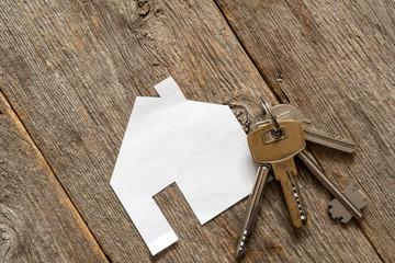 Obraz na SzkleHouse icon and keys