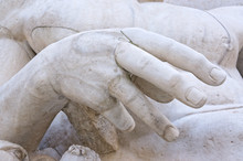 Detail Of The Statue Of River ...