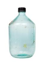 Old Empty Dusty Large Wine Bottle