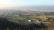 Burbank City With The Forest L...