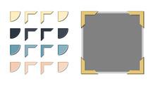 Photo Corner Variations Vector