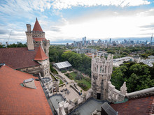 Exterior View Of The Famous Casa Loma
