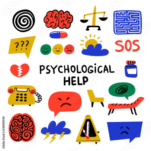 Psychology Fototapeta