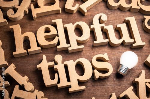 Fotografía  Helpful Tips Idea