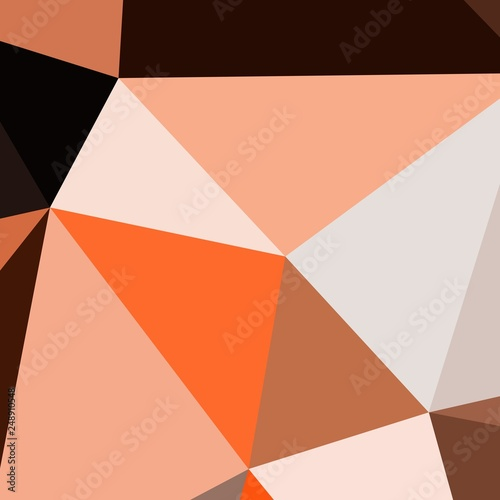 Fényképezés  Abstract background multicolored geometric poligonal