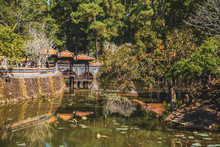 Royal Tomb In Hue, Vietnam