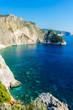 Greece, Zakynthos, Perfect turquoise clear water at coast of plakaki island