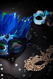 Maska wenecka. Akcesoria na bal karnawałowy.