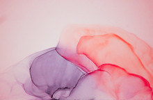 Alcohol Ink Wash Texture On Wh...