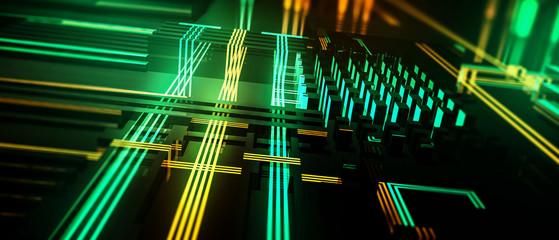 Hightech Hintergrund