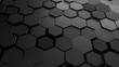 Abstract hexagonal background.