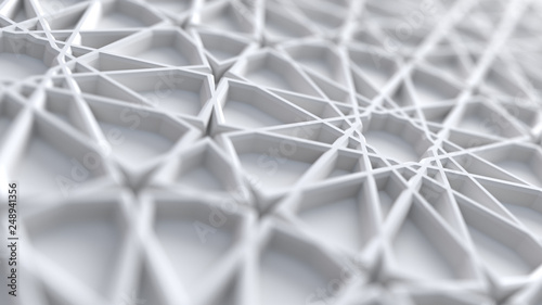 abstract-white-arabic-girih-pattern-background