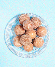 Donut Holes On A Plate
