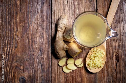 Fototapeta Herbata imbirowa obraz