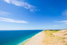 Lake Michigan Overlook, Pierce Stocking Drive, Sleeping Bear Dunes National Lakeshore, Michigan