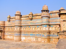 Gwalior Fortress In The City O...