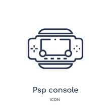 Psp Console Icon From Technolo...