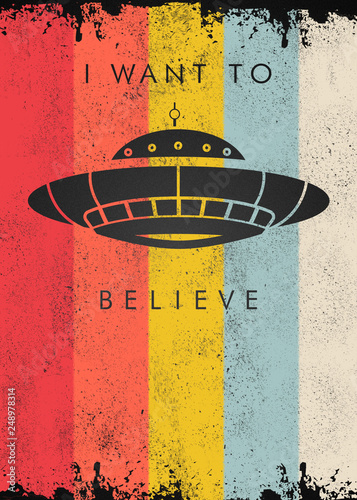 фотография I Want To Believe - Ufo
