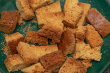 Dried Bread Rusks Food