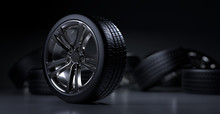 Alloy Wheels Tire Auto Cast