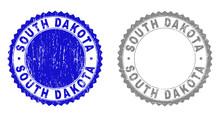 Grunge SOUTH DAKOTA Stamp Seal...