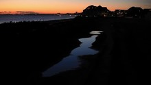 Sunset My A Sea. Sky Is Lookin...