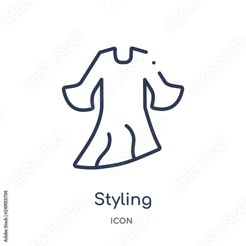 Fotografie, Obraz  styling icon from sew outline collection