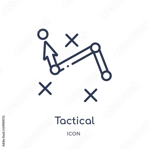 Fotografía  tactical icon from seo & web outline collection