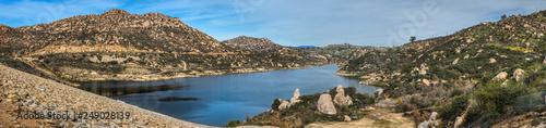 Carta da parati Beautiful Lake Ramona Panorama