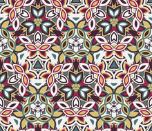 Kaleidoscope Seamless Pattern,...