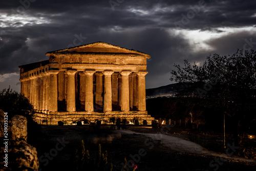 Fotografie, Tablou  Concordia Temple