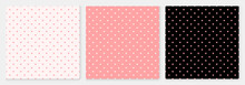 Pattern Seamless Heart Abstract Background Pink Luxury Color Geometric Vector.