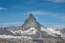 View Closeup Matterhorn Mounta...
