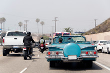 A Traffic Jam In Malibu, Calif...