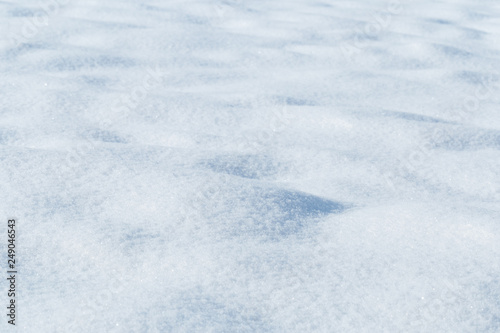 Stickers pour portes Marbre background of fresh snow texture in blue tone