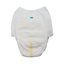 Disposable White Baby Diaper - Panties On A White Background Isolated