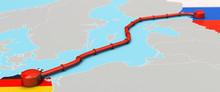 Nord Stream 2 Pipeline, Illust...