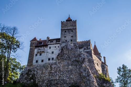 Dracula castle in Transylvania, Romania Canvas Print