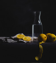 Still Life With Lemons, Water ...